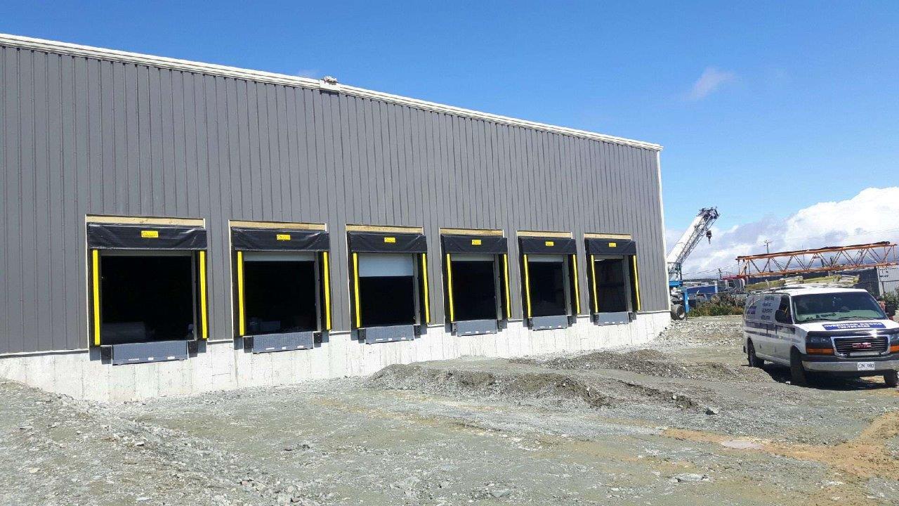 Overhead Doors & Loading Docks - Medical Mart - Mount Pearl